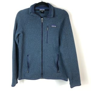Patagonia | Blue Men's Zip Up Sweater